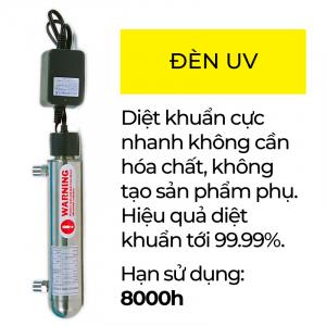Đèn UV diệt khuẩn máy lọc nước RO FujiE