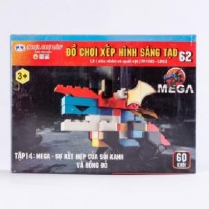 Đồ chơi xếp hình - M1085-LR62 (Số 62 - L5 - Tập 14)