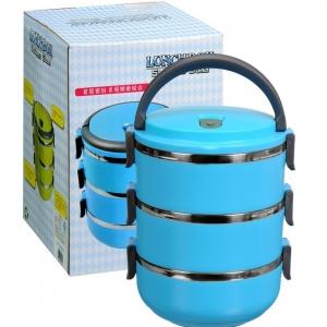 Hộp cơm giữ nhiệt 3 tầng Boshang IN.13-002