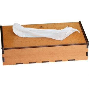 Hộp đựng khăn giấy chữ nhật Nhatvywood KG04