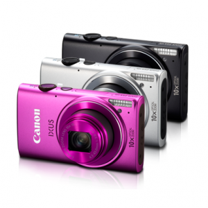 Máy ảnh KTS Canon Digital IXUS 255 HS - 12.1MP