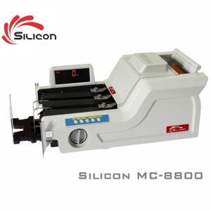 Máy đếm tiền phát hiện tiền siêu giả Silicon MC-8800