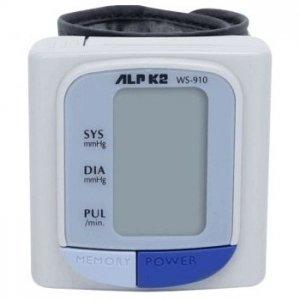 Máy đo huyết áp cổ tay ALPK2 WS 910