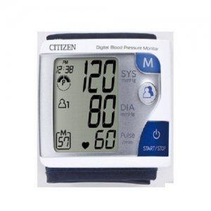 Máy đo huyết áp cổ tay Citizen CH-608