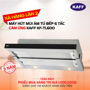 Máy hút mùi âm tủ bếp 6 tấc KAFF KF-TL600