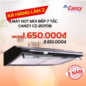 Máy hút mùi bếp 7 tấc CANZY CZ-2070B