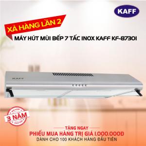 Máy hút mùi bếp 7 tấc khung INOX KAFF KF-8730I