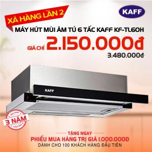 Máy hút mùi bếp âm tủ 6 tấc KAFF KF-TL60H