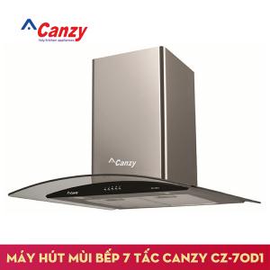 Máy hút mùi bếp kính cong 7 tấc CANZY CZ-70D1