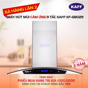 Máy hút mùi bếp kính cong 9 tấc cảm ứng KAFF KF-GB029