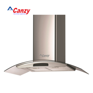 Máy hút mùi bếp kính cong cảm ứng 7 tấc Canzy CZ-D700