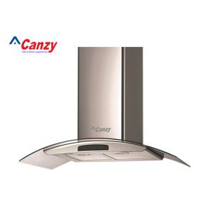 Máy hút mùi bếp kính cong cảm ứng 9 tấc Canzy CZ-D900