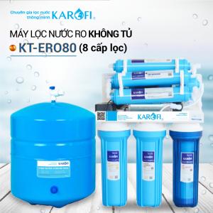 Máy lọc nước RO để gầm, không tủ KAROFI KT-ERO80 (8 cấp lọc)