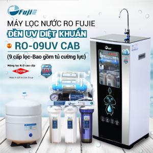 Máy lọc nước RO FUJIE RO-09UV CAB (9 cấp lọc - Bao gồm tủ cường lực)
