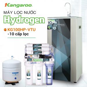 Máy lọc nước RO KANGAROO KG100HP VTU HYDROGEN (10 cấp lọc - Bao gồm tủ cường lực)