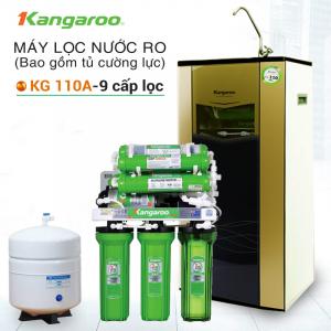 Máy lọc nước RO KANGAROO KG110A OMEGA (9 cấp lọc - Bao gồm tủ cường lực)