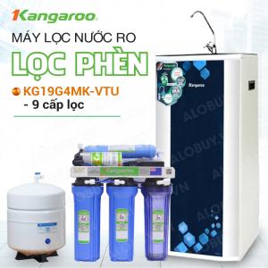 Máy Lọc Nước RO KANGAROO KG19G4MK-VTU (9 cấp lọc - Bao gồm tủ cường lực)
