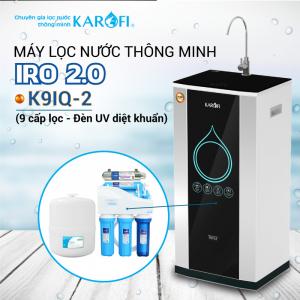 Máy lọc nước RO KAROFI iRO 2.0 K9IQ-2 (9 cấp lọc - Đèn UV diệt khuẩn)