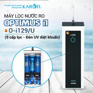 Máy lọc nước RO KAROFI OPTIMUS i1 O-i129/U (9 cấp lọc - Đèn UV diệt khuẩn)