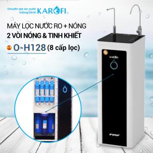 Máy lọc nước RO nóng 2 vòi KAROFI O-H128 (8 cấp lọc)