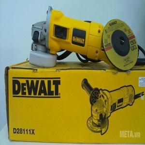 Máy Mài góc,đá mài Dewalt DWE28111X