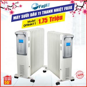 Máy sưởi dầu 11 thanh nhiệt FujiE OFR4411