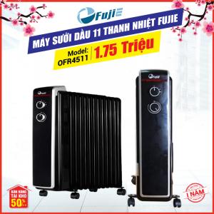 Máy sưởi dầu 11 thanh nhiệt FujiE OFR4511