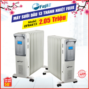 Máy sưởi dầu 13 thanh nhiệt FujiE OFR4413