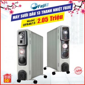 Máy sưởi dầu 13 thanh nhiệt FujiE OFR4613