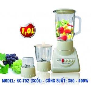 Máy xay sinh tố Kim Cương KC-T02 - Loại 3 cối