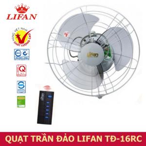 Quạt Trần Đảo Lifan có Remote TĐ-16RC