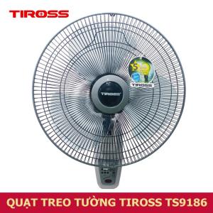 Quạt Treo Tường Có Điều Khiển Tiross TS9186