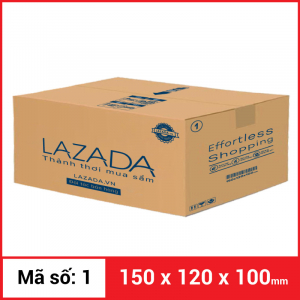 Thùng Carton gói hàng kích thước 150x120x100mm