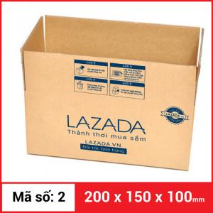 Thùng Carton gói hàng kích thước 200x150x100mm