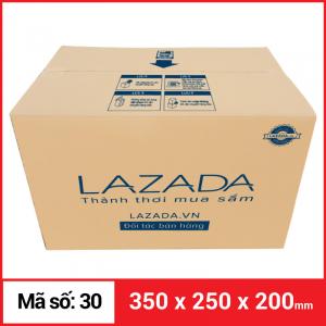 Thùng Carton gói hàng kích thước 350x250x200mm