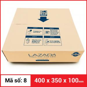 Thùng Carton gói hàng kích thước 400x350x100mm