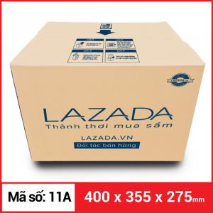 Thùng Carton gói hàng kích thước 400x355x275mm