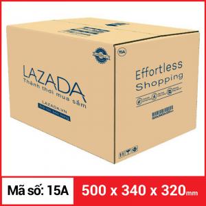 Thùng Carton gói hàng kích thước 500x340x320mm
