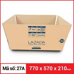 Thùng Carton gói hàng kích thước 770x570x210mm