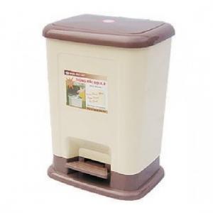 Thùng rác Nhựa Chợ Lớn M804-RĐ (Đại-Kiểu 2)