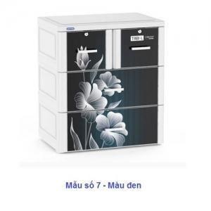 Tủ Nhựa Duy Tân Tabi-L (3 tầng - 4 ngăn)