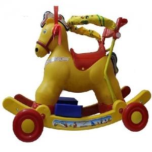 Xe bập bênh - M251-XCNBH - Có Vòng Bảo hiểm (Con Ngựa)