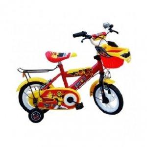 Xe đạp trẻ em - 12 inch - M1253-X2B (Số 64 - Siêu Nhân Vàng)
