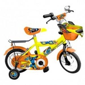 Xe đạp trẻ em - 12 inch - M1257-X2B (Số 66 - Siêu nhân xanh)