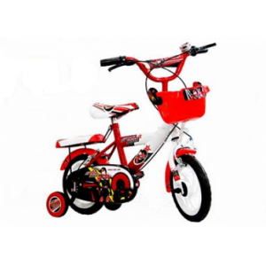 Xe đạp trẻ em - 14 inch - M974-X2B (Số 5 - Đỏ+Trắng)
