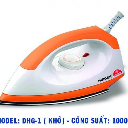 Bàn ủi khô Kim Cương DHG-1 - Công suất 1000W-1