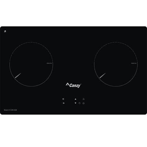 Bếp điện từ đôi  Canzy CZ 400-2GB
