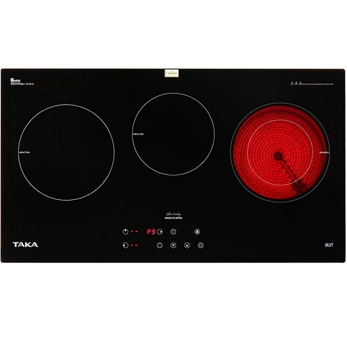 Bếp điện từ hồng ngoại ba lò Taka TK-IR3T