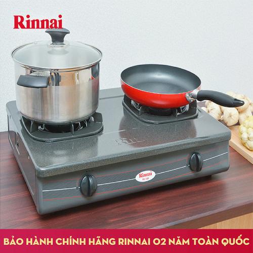 Bếp gas 6 tấc Rinnai RV-360GM, Chén gang đúc-1