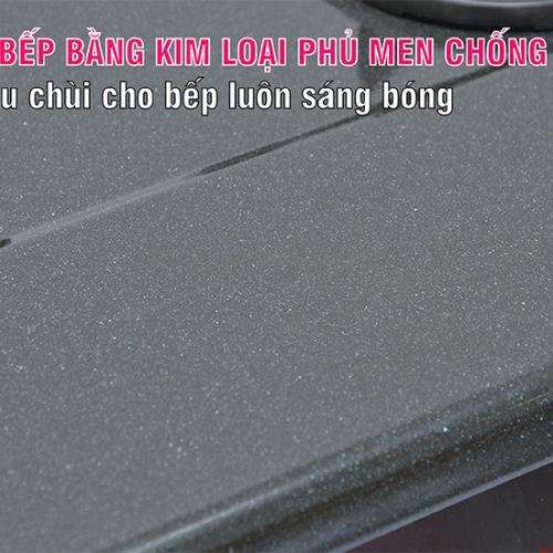 Bếp gas 6 tấc Rinnai RV-360GM, Chén gang đúc-2